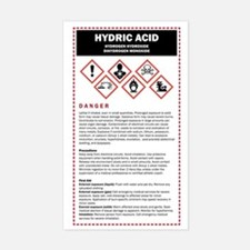 Hydric Acid / DHMO Warning Lab Decal