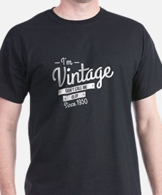 Im Vintage Since 1950 T-Shirt