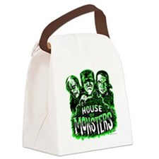 House of Monsters Canvas Lunch Bag
