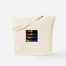 Pride Love& Tote Bag