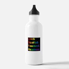Pride Love& Water Bottle