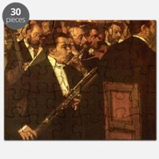 Orchestra of Opera by Degas Puzzle