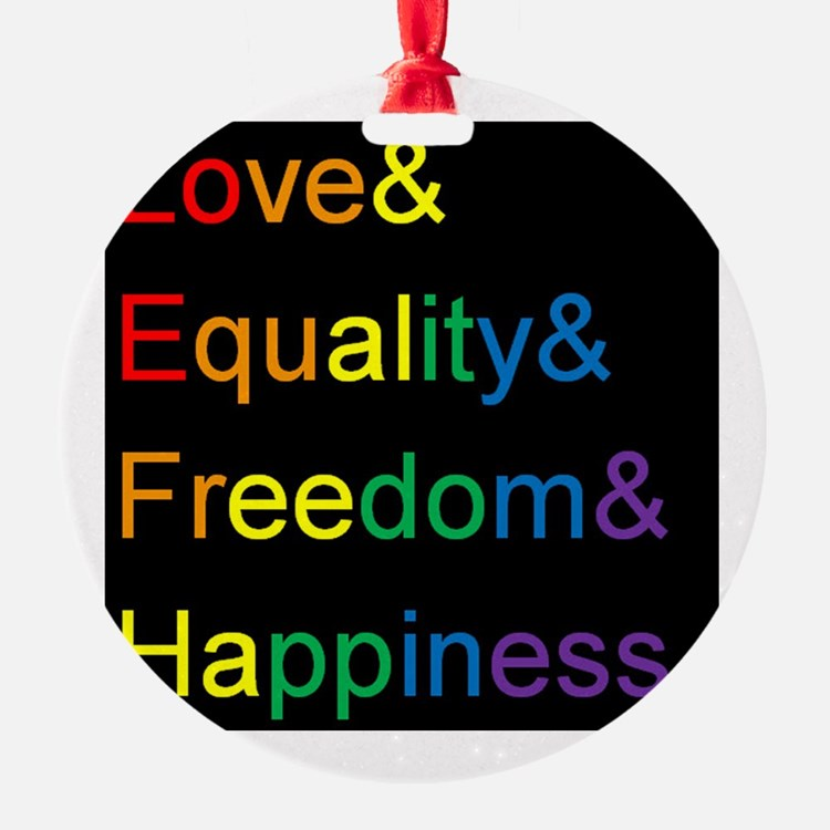 Cute Equality Ornament