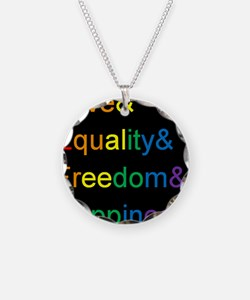 Cool Marriage equality Necklace