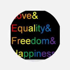 "Unique Equality 3.5"" Button (100 pack)"