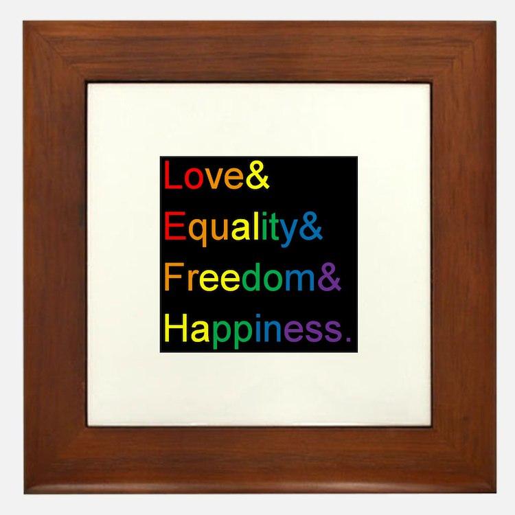 Cute Ally Framed Tile