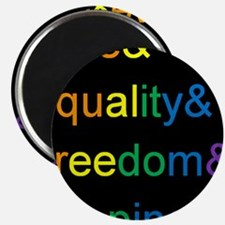 """Unique Equality 2.25"""" Magnet (10 pack)"""