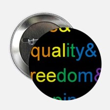 """Cute Marriage equality 2.25"""" Button (100 pack)"""