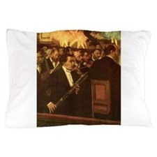Orchestra of Opera by Degas Pillow Case