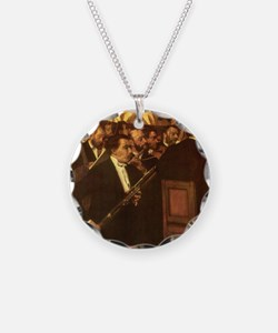 Orchestra of Opera by Degas Necklace