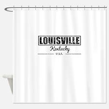 Louisville Kentucky Shower Curtain