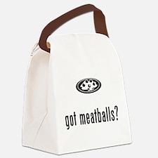 Meatballs Canvas Lunch Bag