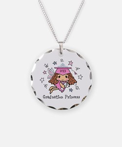 Graduation Princess Personal Necklace