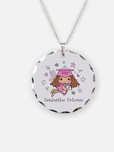 Graduation Princess Personal Necklace Circle Charm