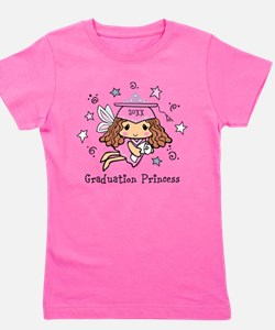 Graduation Princess Personalized Girl's Tee
