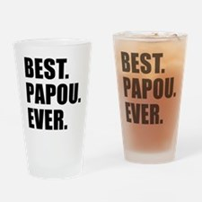 Best Ever Papou Drinkware Drinking Glass