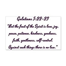 Galatians Fruits of the Spirit Wall Decal