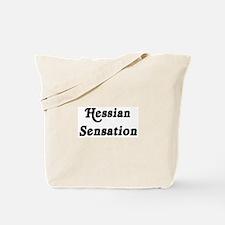 Hessian Sensation Tote Bag