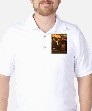 Orchestra of Opera by Degas Golf Shirt