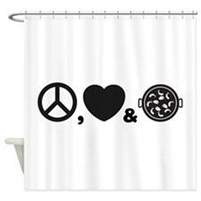 Paella Shower Curtain
