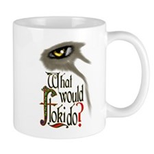 what would Floki do? Mugs