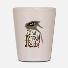what would Floki do? Shot Glass