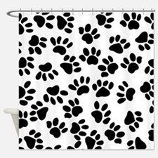 Paw Prints Shower Curtain