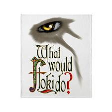What Would Floki Do? Throw Blanket
