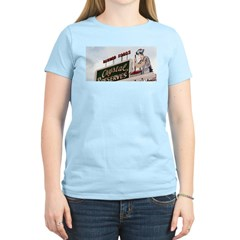 Hap on the Hot Sauce Sign Women's Pink T-Shirt