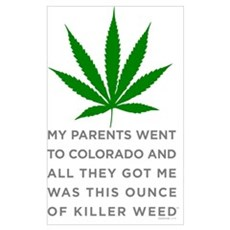 Killer Weed Poster