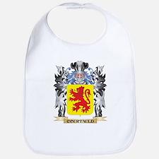 Courtauld Coat of Arms - Family Crest Bib
