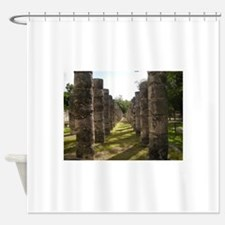 Ancient Pillars Shower Curtain