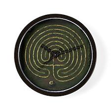 Sacred Labyrinth Wall Clock