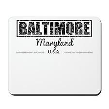 Baltimore Maryland Mousepad