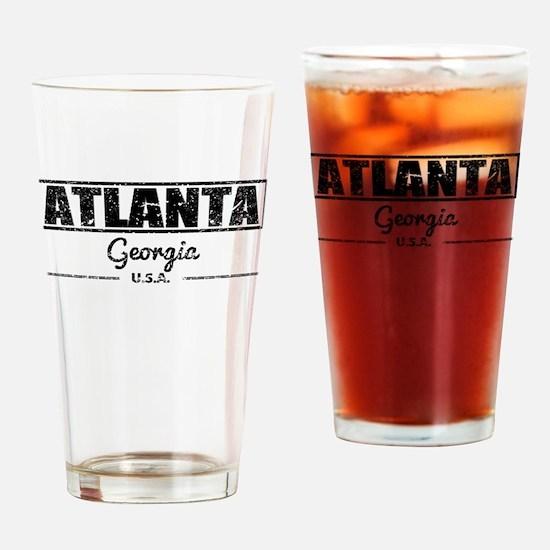 Atlanta Georgia Drinking Glass