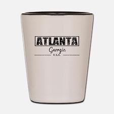 Atlanta Georgia Shot Glass