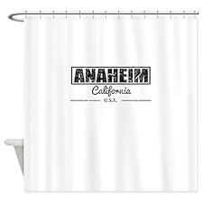 Anaheim California Shower Curtain