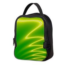 Yellow Streak Neoprene Lunch Bag