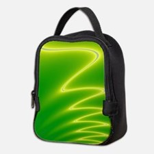 Yellow Streak Neoprene Lunch Bag