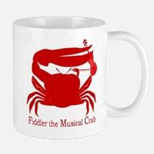 Musical Fiddler Crab Mugs