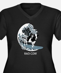 Rad Cow Surf Plus Size T-Shirt