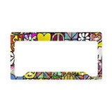 Retro License Plate Frames