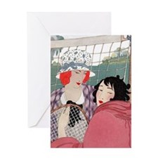 VOGUE - Love Forty - A Day Of Tennis Greeting Card