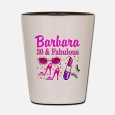 30TH PRIMA DONNA Shot Glass