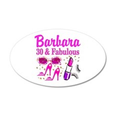 30TH PRIMA DONNA Wall Decal