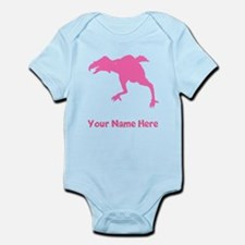 Phororhacos Silhouette (Pink) Body Suit
