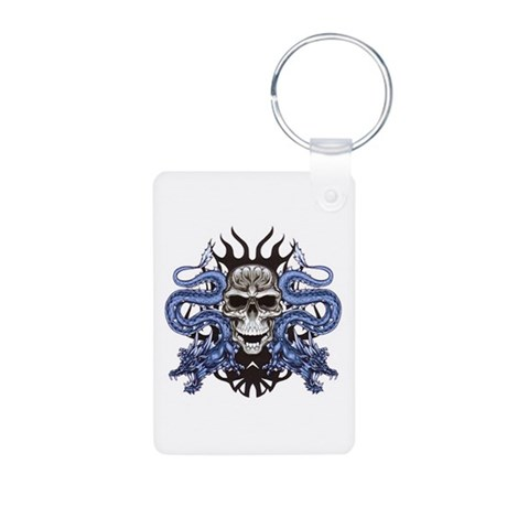 Blue Skull.png Keychains