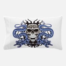 Blue Skull.png Pillow Case
