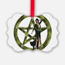 The Wicca Pentacle Ornament