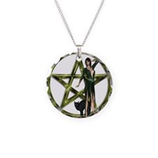 The Wicca Pentacle Necklace